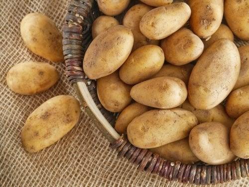 Ridurre l'apporto calorico patate