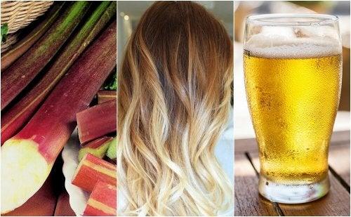 Schiarire i capelli naturalmente: 5 metodi