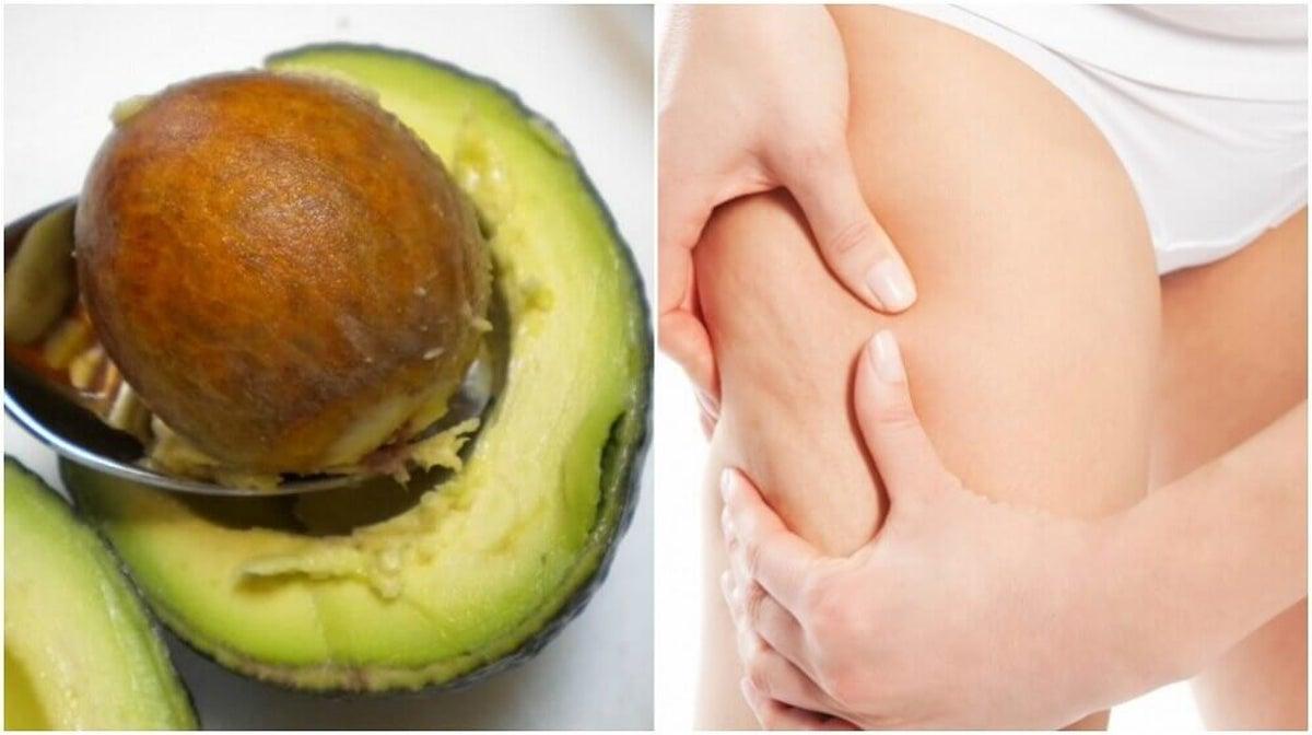 Nocciolo Di Avocado In Acqua combattere la cellulite con il seme di avocado - vivere più sani