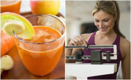 Succo di carota e zenzero: 6 benefici