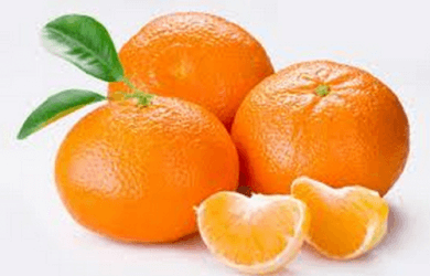 Tre mandarini.