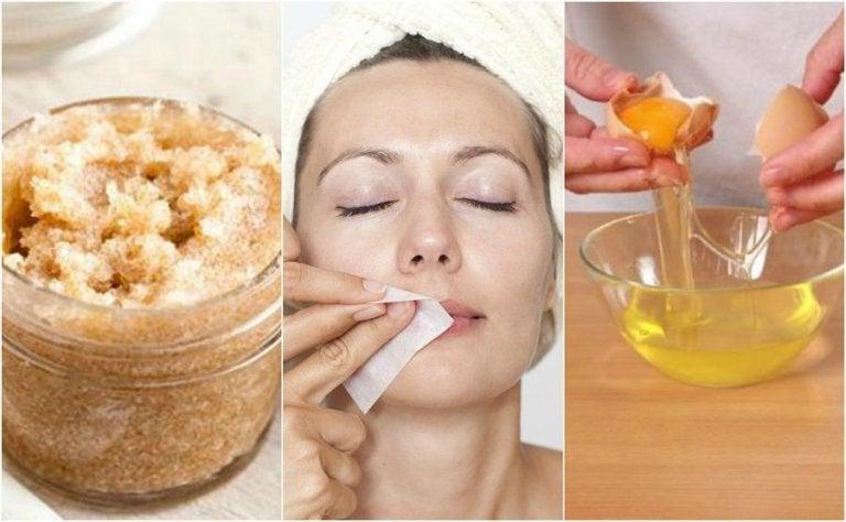 Eliminare i peli superflui: 4 prodotti naturali