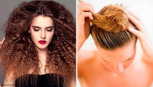 Come mantenere i capelli ricci di notte
