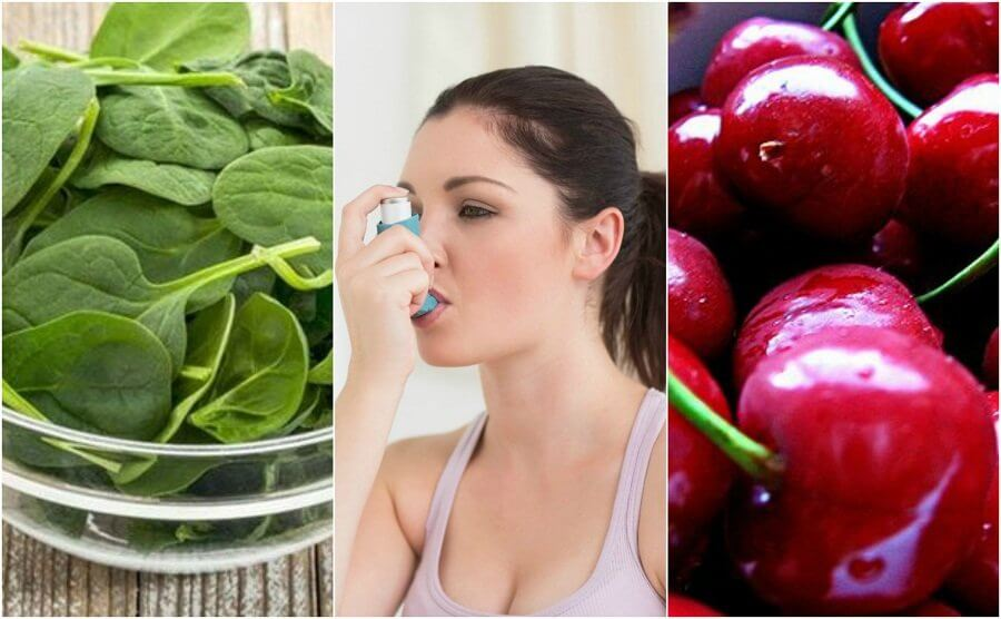 Combattere l'asma con 7 alimenti
