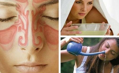 9 rimedi per alleviare la sinusite