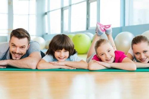 Benefici fisici dello sport in famiglia