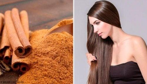 Come usare la cannella per avere capeli splendenti