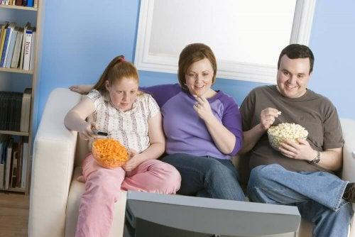 Obesità a causa della genetica