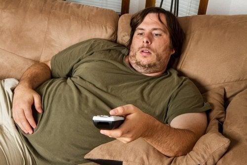 Obesità dovuta a disordini alimentari