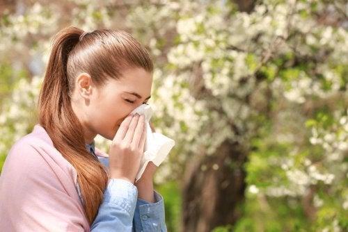 Curare la rinite allergica: alimenti consigliati