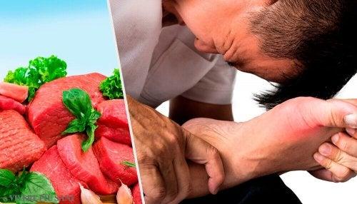 Alimenti che aumentano l'acido urico: eccone 7