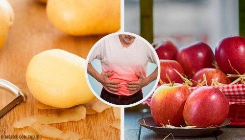 Combattere le ulcere gastriche con 8 alimenti