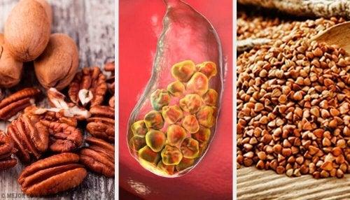 6 alimenti per contrastare i calcoli biliari