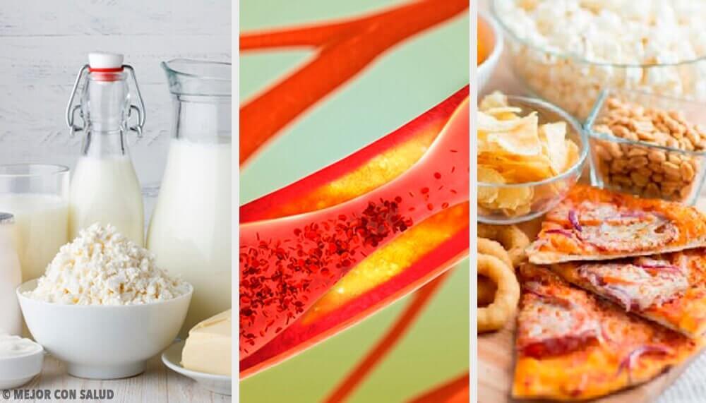 Arterie ostruite: alimenti da evitare
