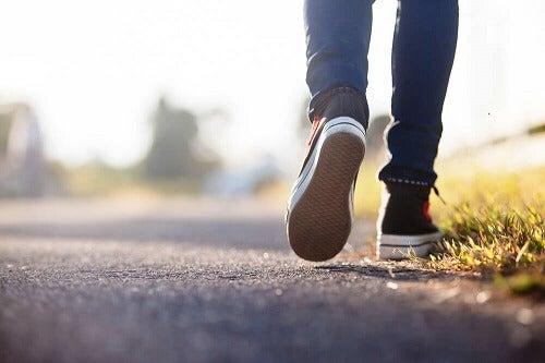 esercizio fisico e camminare