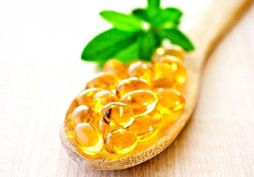Capsule di vitamina E