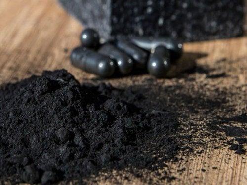 Carbone attivo in polvere