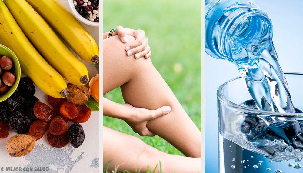 Alleviare i crampi muscolari: esercizi e alimenti