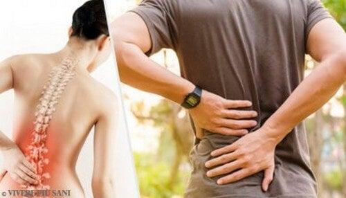 6 problemi di salute che provocano il mal di schiena