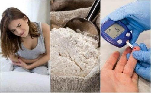 Farine raffinate: 6 effetti sulla salute
