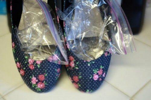 ghiaccio per escoriazioni da scarpe
