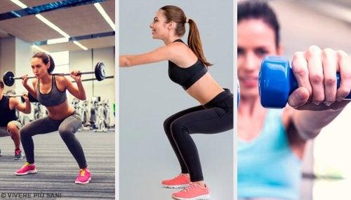 I migliori esercizi di squat: non perdeteveli
