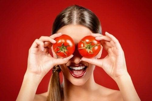 Maschera al pomodoro