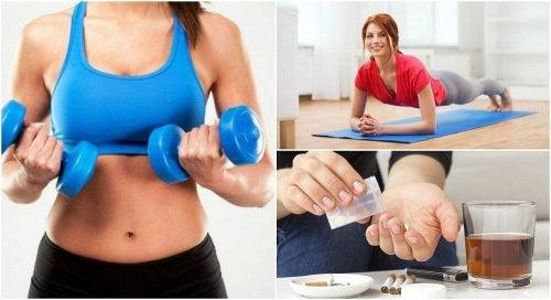 guadagnare massa muscolare ma non peso