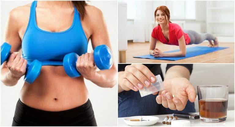 Sviluppare la massa muscolare: 6 errori