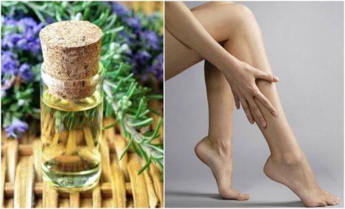 Olio rassodante per le gambe: come prepararlo