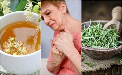 Curare l'artrite con infusi alle erbe