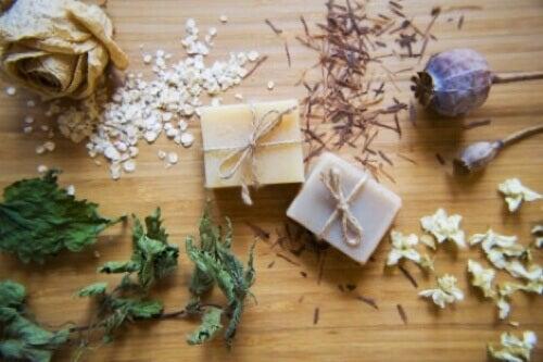 Sapone artigianale di miele e avena