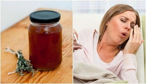 Calmare la tosse con sciroppo al timo e liquirizia