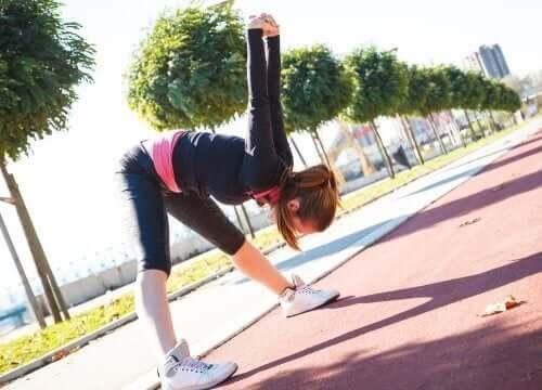 Esercizi di stretching