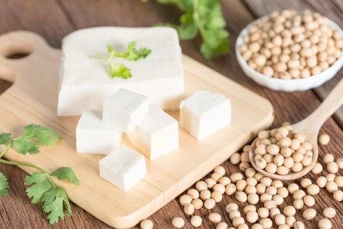 Tofu a cubetti