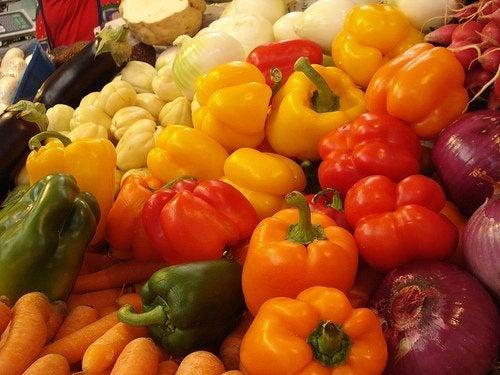 Verdura e ortaggi ricchi di acido ialuronico