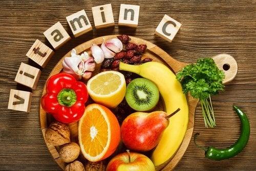 Verdura ricca di vitamina C