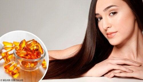 Favorire la crescita dei capelli: vitamine