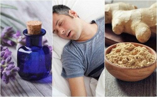 Rimedi naturali per le apnee notturne