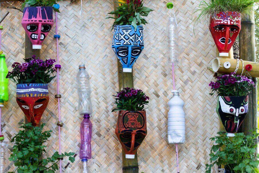 Vasi fai-da-te: crearli con materiali riciclati