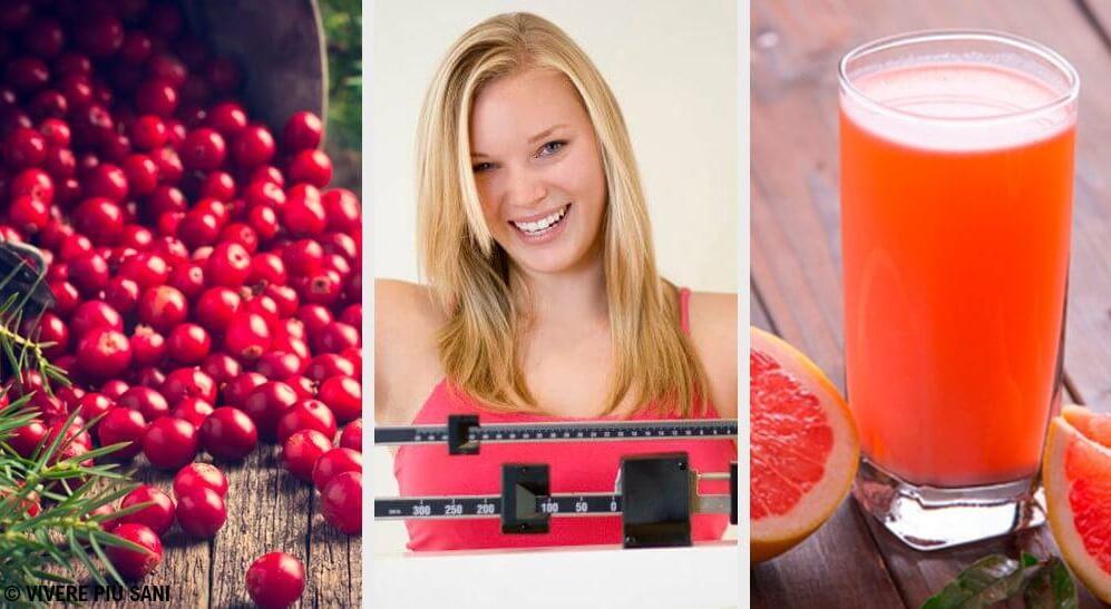 6 frutti che vi aiuteranno a perdere peso facilmente
