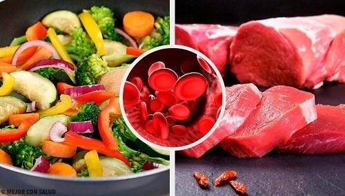 Aumentare l'emoglobina: alimenti indicati