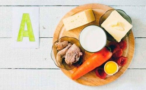 Alimenti ricchi di vitamina A