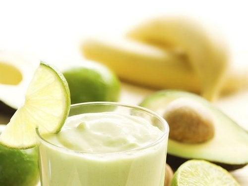 Avocado e banana