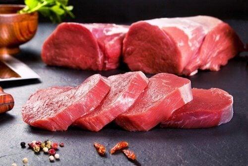 carne rossa per emoglobina