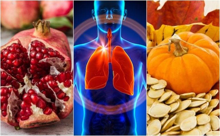 Funzionalità respiratoria: 6 alimenti