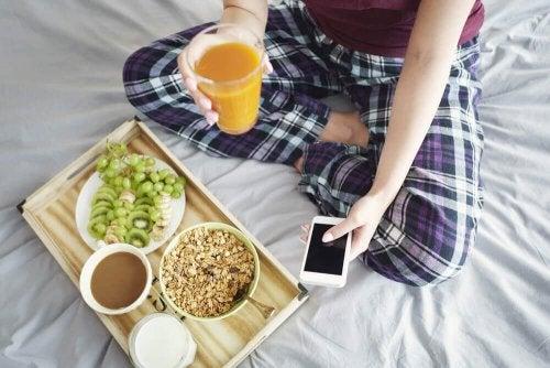 Cibi molto sani per la vostra colazione