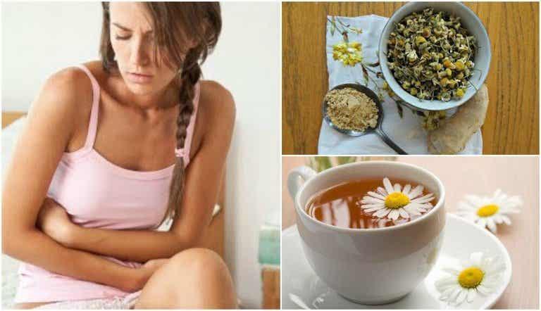 Colon irritabile: tè con zenzero e camomilla