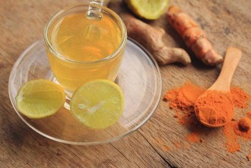 Tè Curcuma Zenzero e Limone