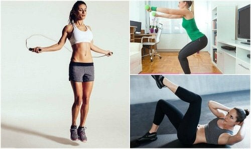 Esercizi per mantenersi in forma senza andare in palestra